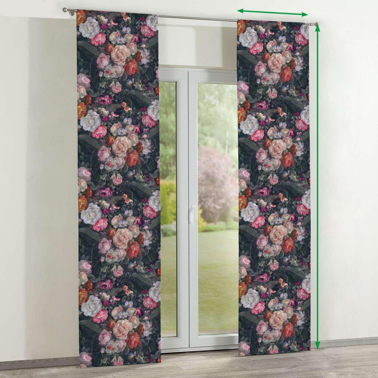 Zasłony panelowe 2 szt. w kolekcji Gardenia, tkanina: 161-02