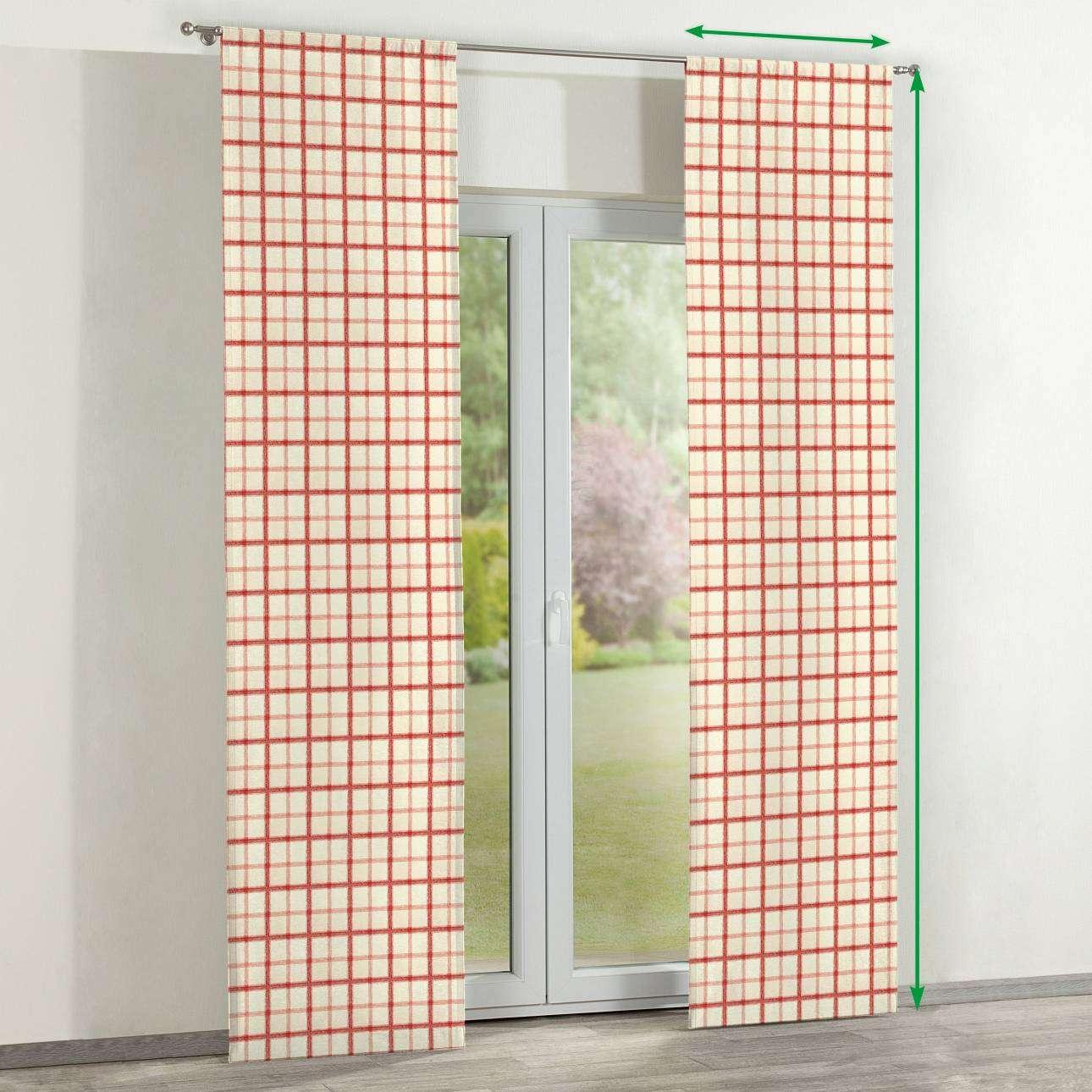 Zasłony panelowe 2 szt. w kolekcji Avinon, tkanina: 131-15