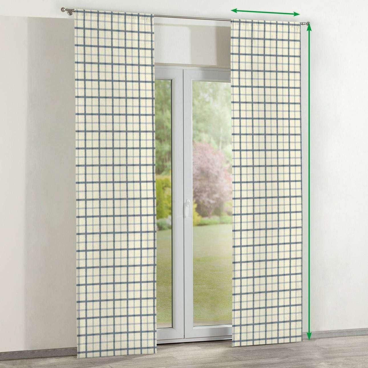 Zasłony panelowe 2 szt. w kolekcji Avinon, tkanina: 131-66