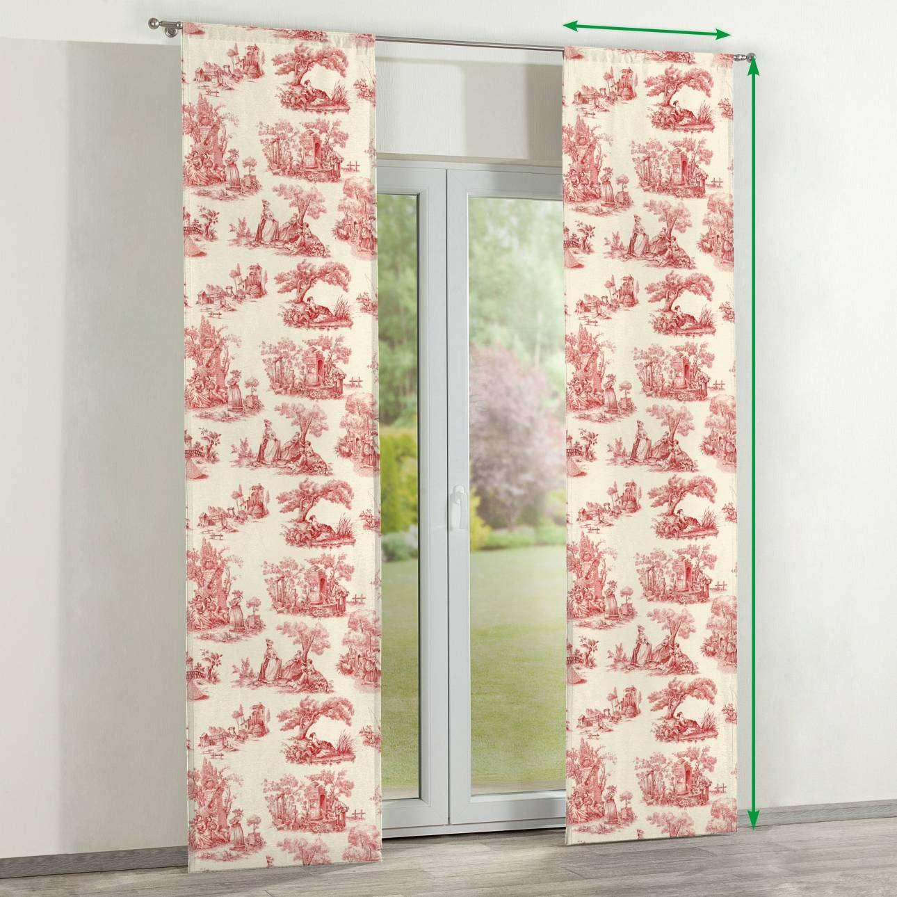 Zasłony panelowe 2 szt. w kolekcji Avinon, tkanina: 132-15