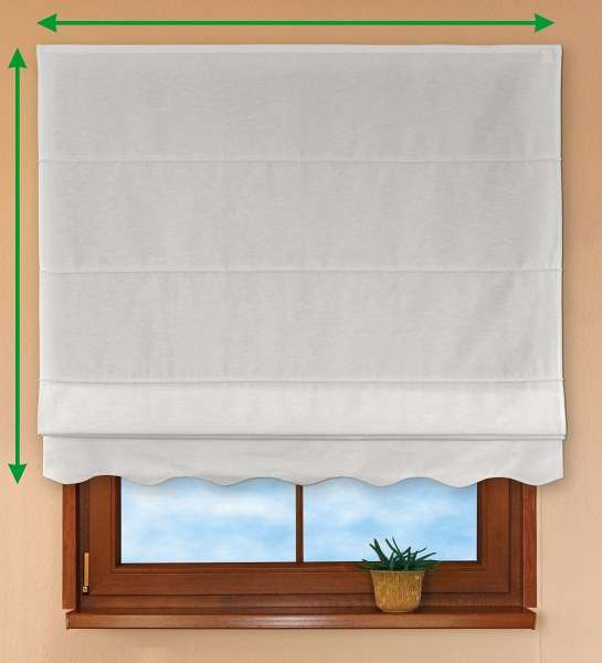 Florence roman blind  in collection Taffeta , fabric: 103-88