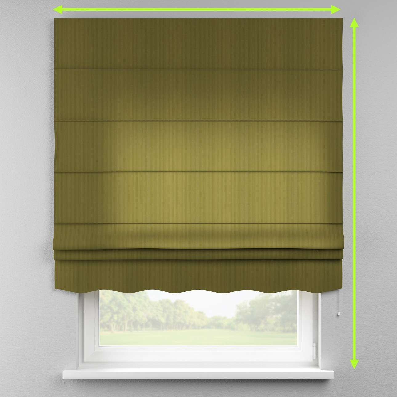 Florence roman blind  in collection Taffeta , fabric: 103-95