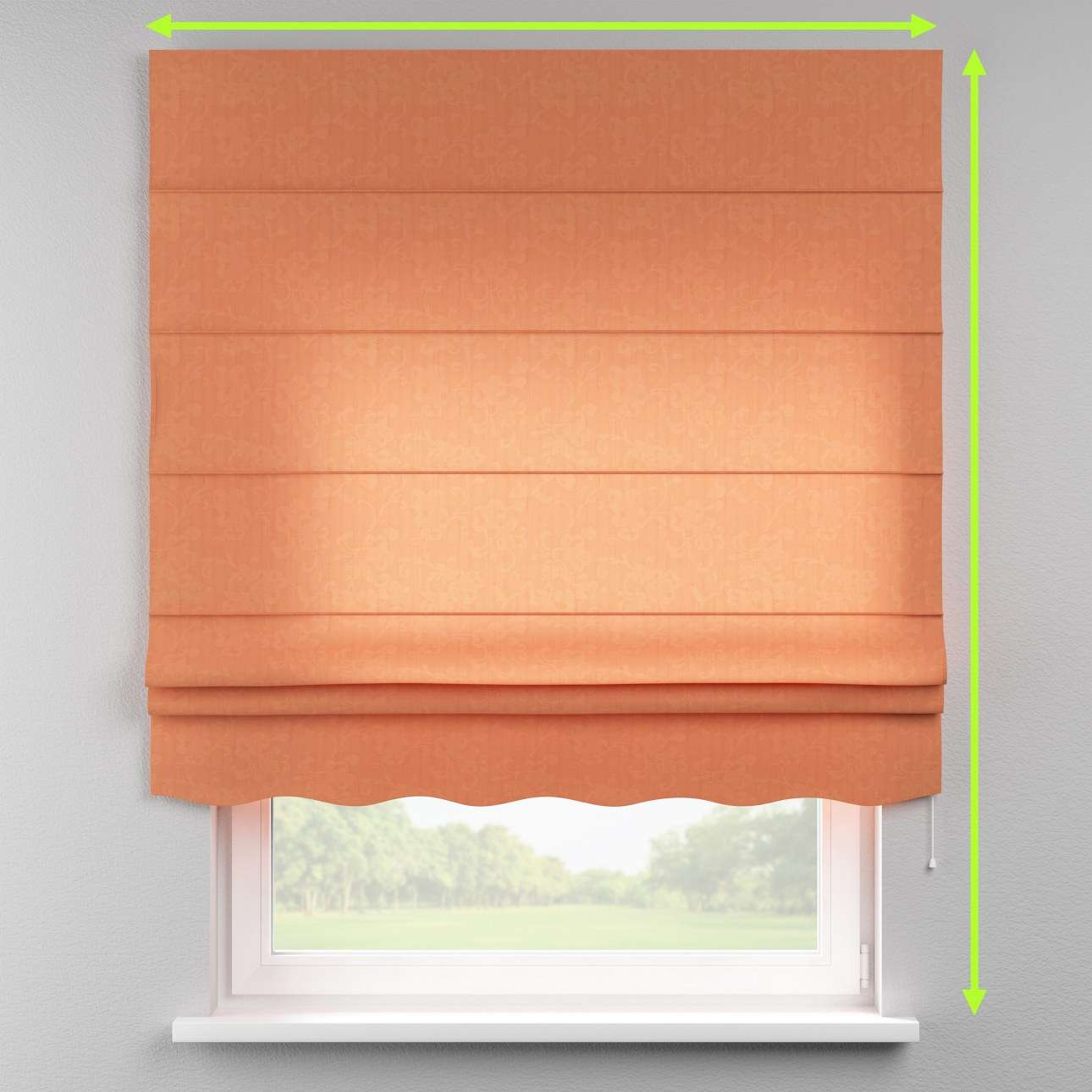 Florence roman blind  in collection Taffeta, fabric: 103-98
