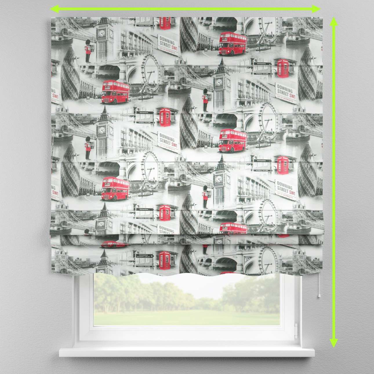 Florence roman blind  in collection Comic Book & Geo Prints, fabric: 111-04
