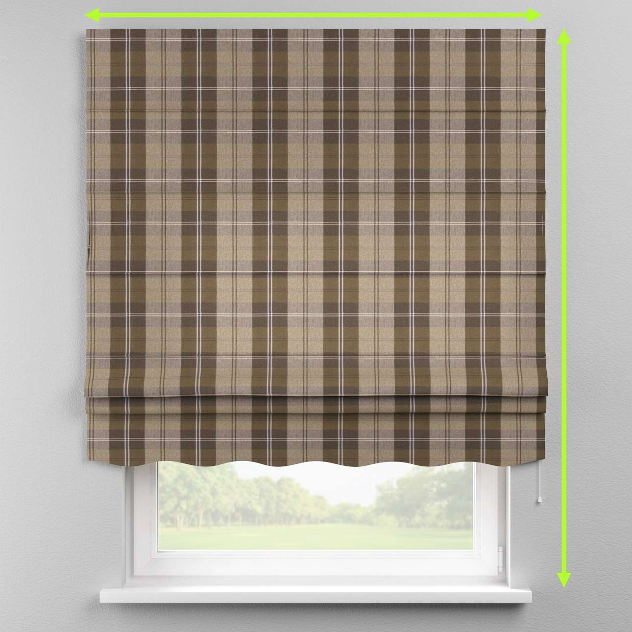 Florence roman blind  in collection Edinburgh, fabric: 115-76