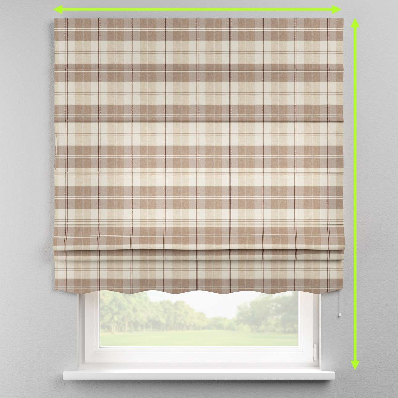 Florence roman blind  in collection Edinburgh , fabric: 115-80