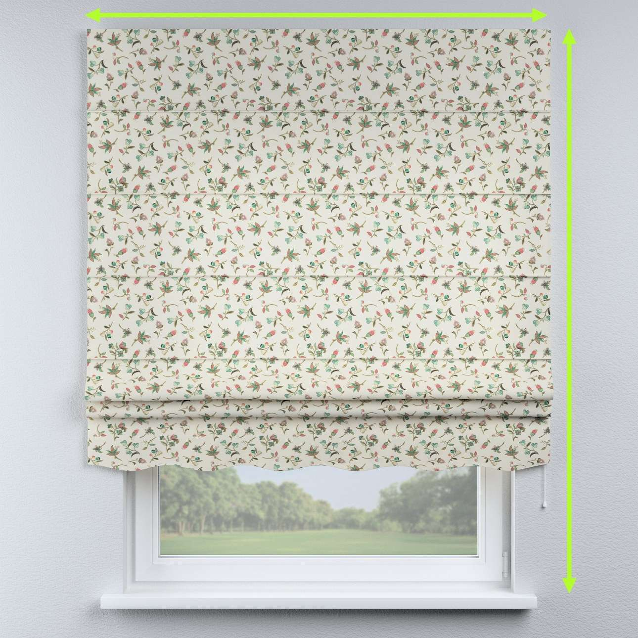 Florence roman blind  in collection Londres, fabric: 122-02