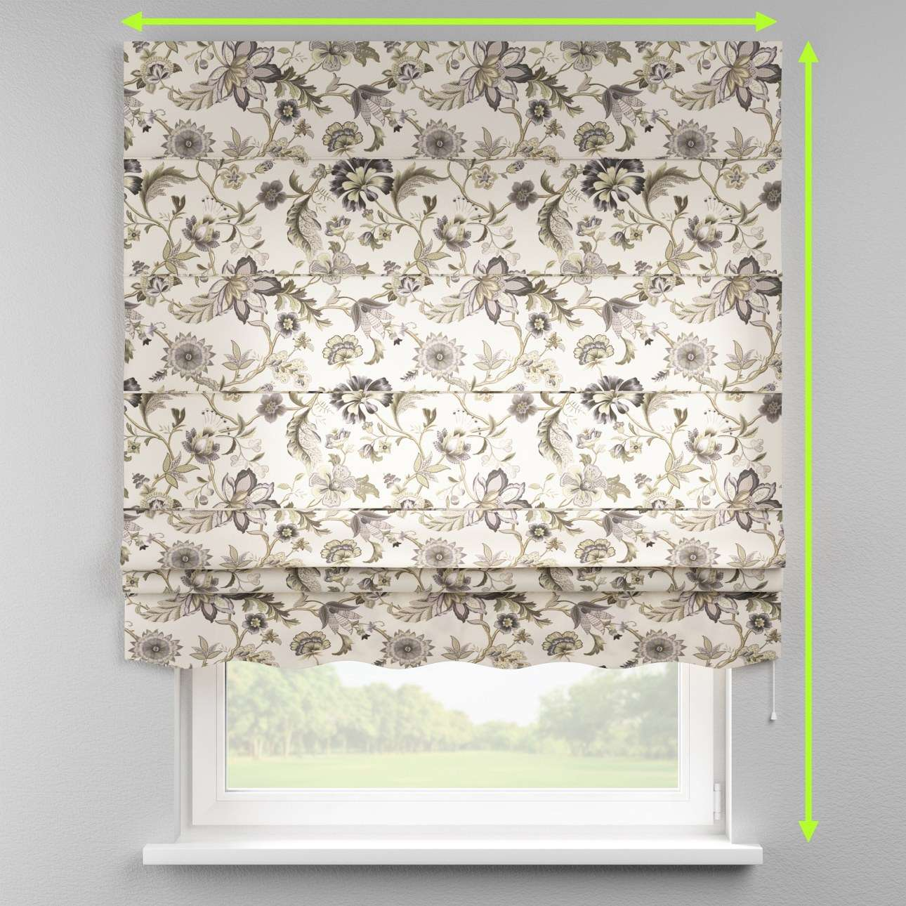 Florence roman blind  in collection Londres, fabric: 122-03