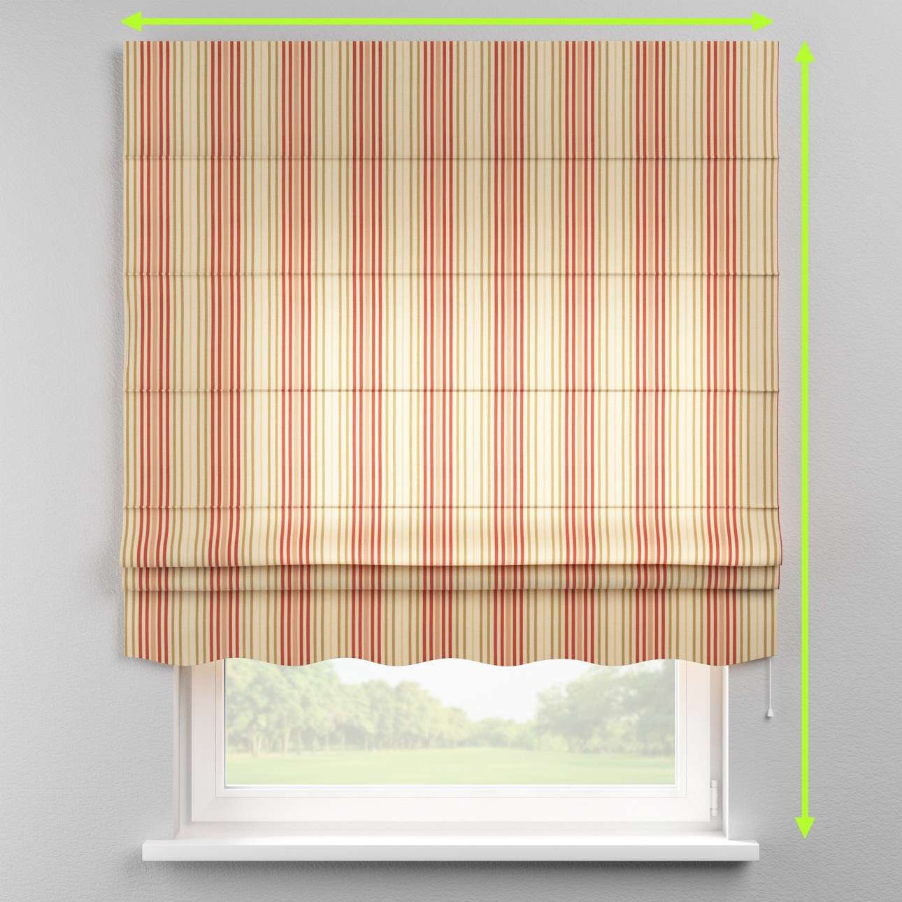 Florence roman blind  in collection Londres, fabric: 122-05