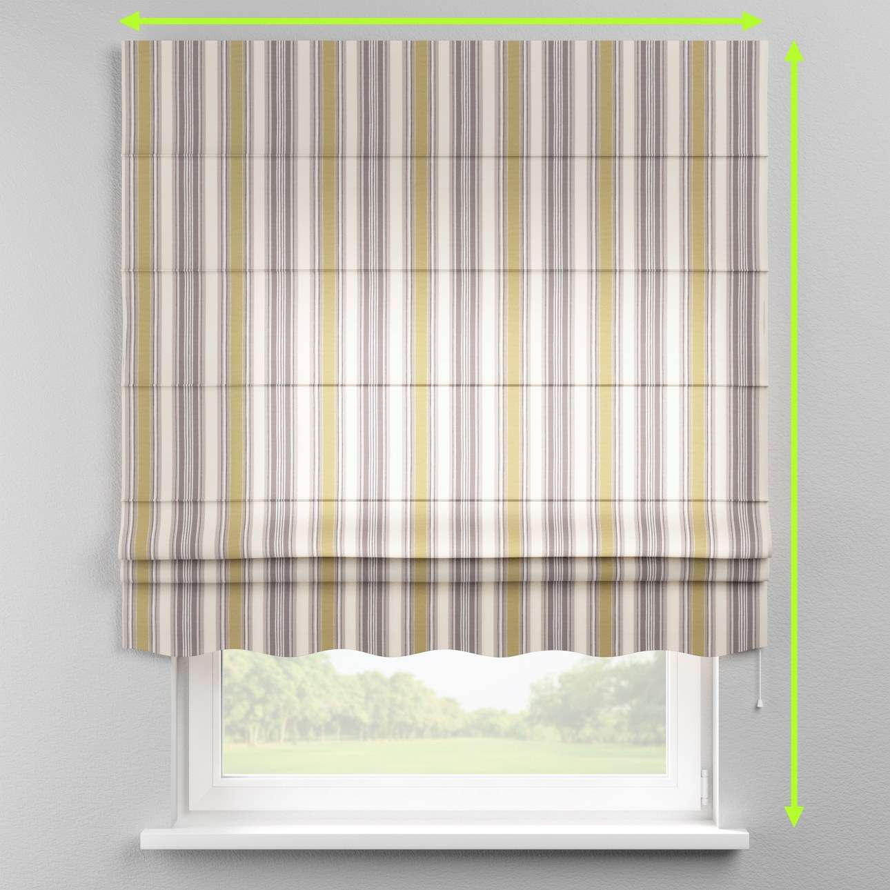 Florence roman blind  in collection Londres, fabric: 122-06