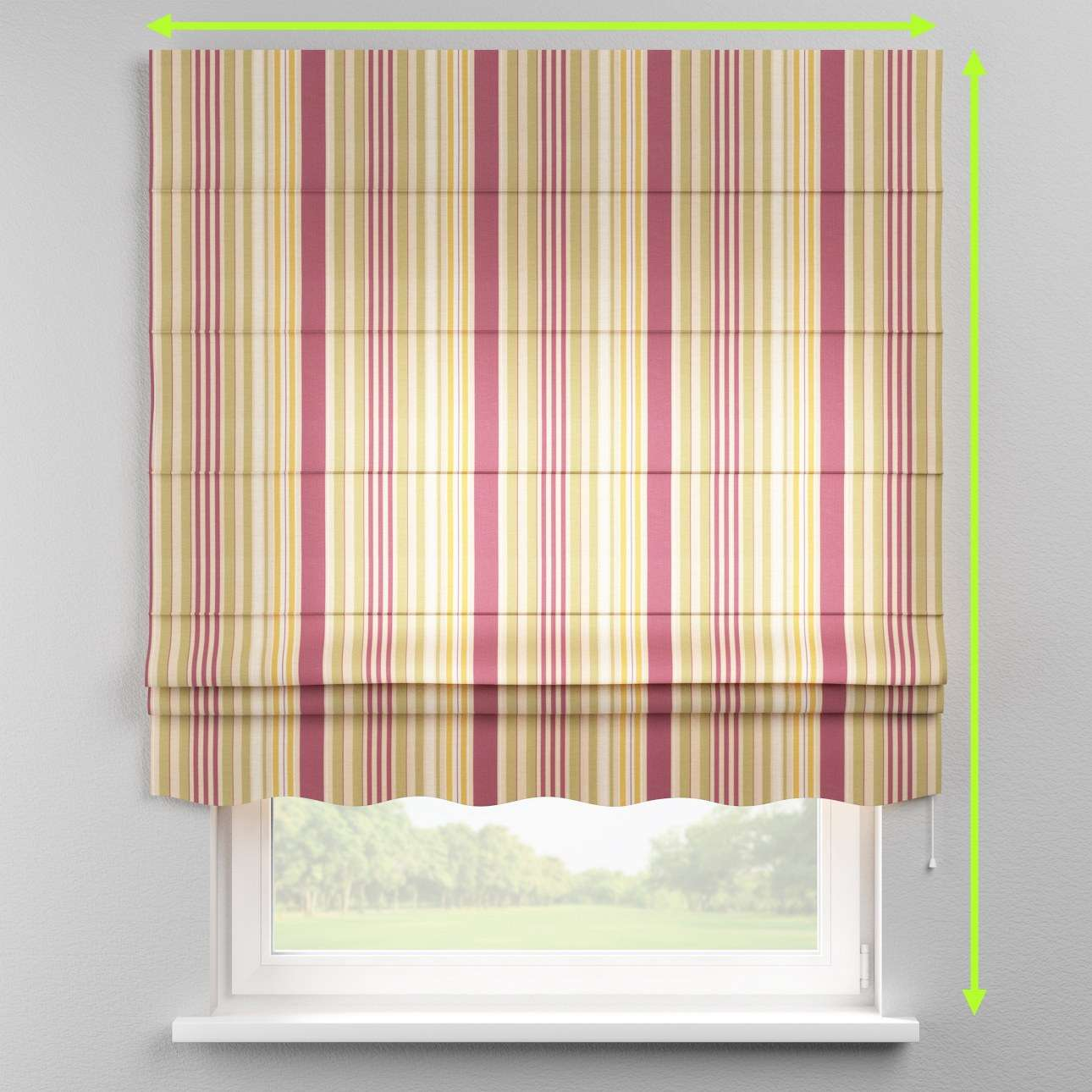 Florence roman blind  in collection Londres, fabric: 122-09