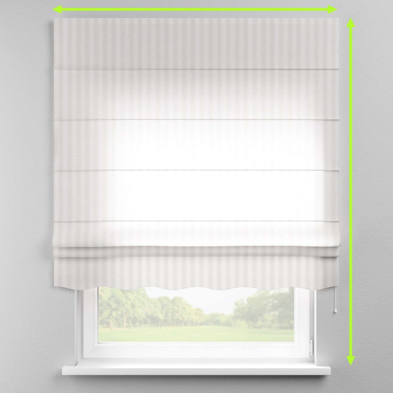 Florence roman blind  in collection Linen, fabric: 392-03