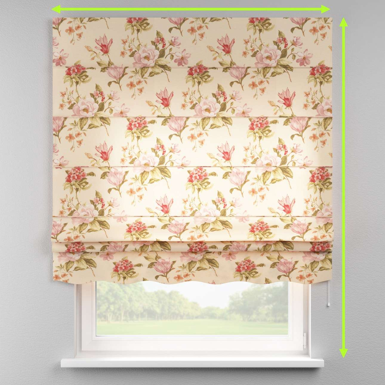 Florence roman blind  in collection Londres, fabric: 123-05