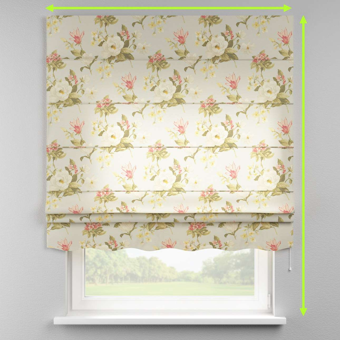 Florence roman blind  in collection Londres, fabric: 123-65