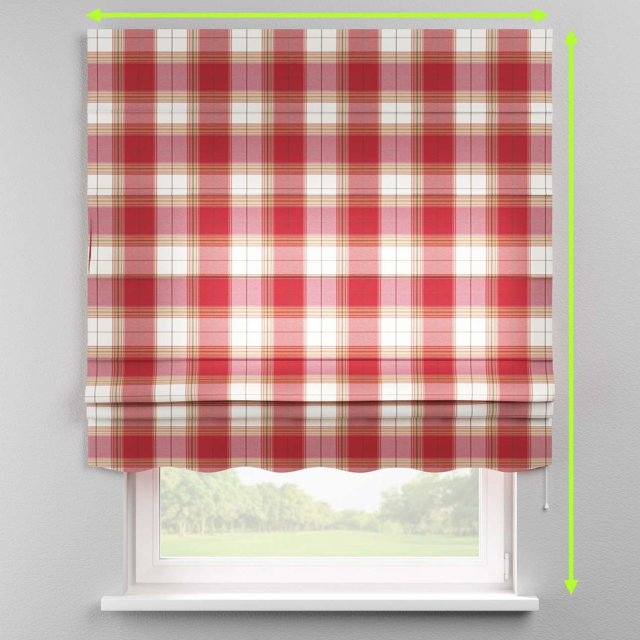 Florence roman blind  in collection Bristol, fabric: 125-15
