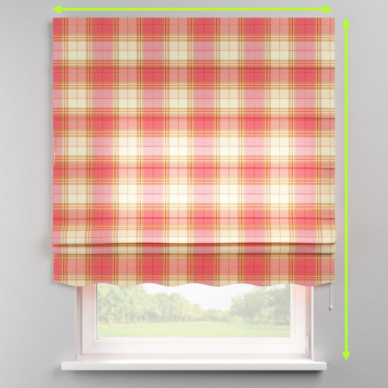 Florence roman blind  in collection Bristol, fabric: 125-25