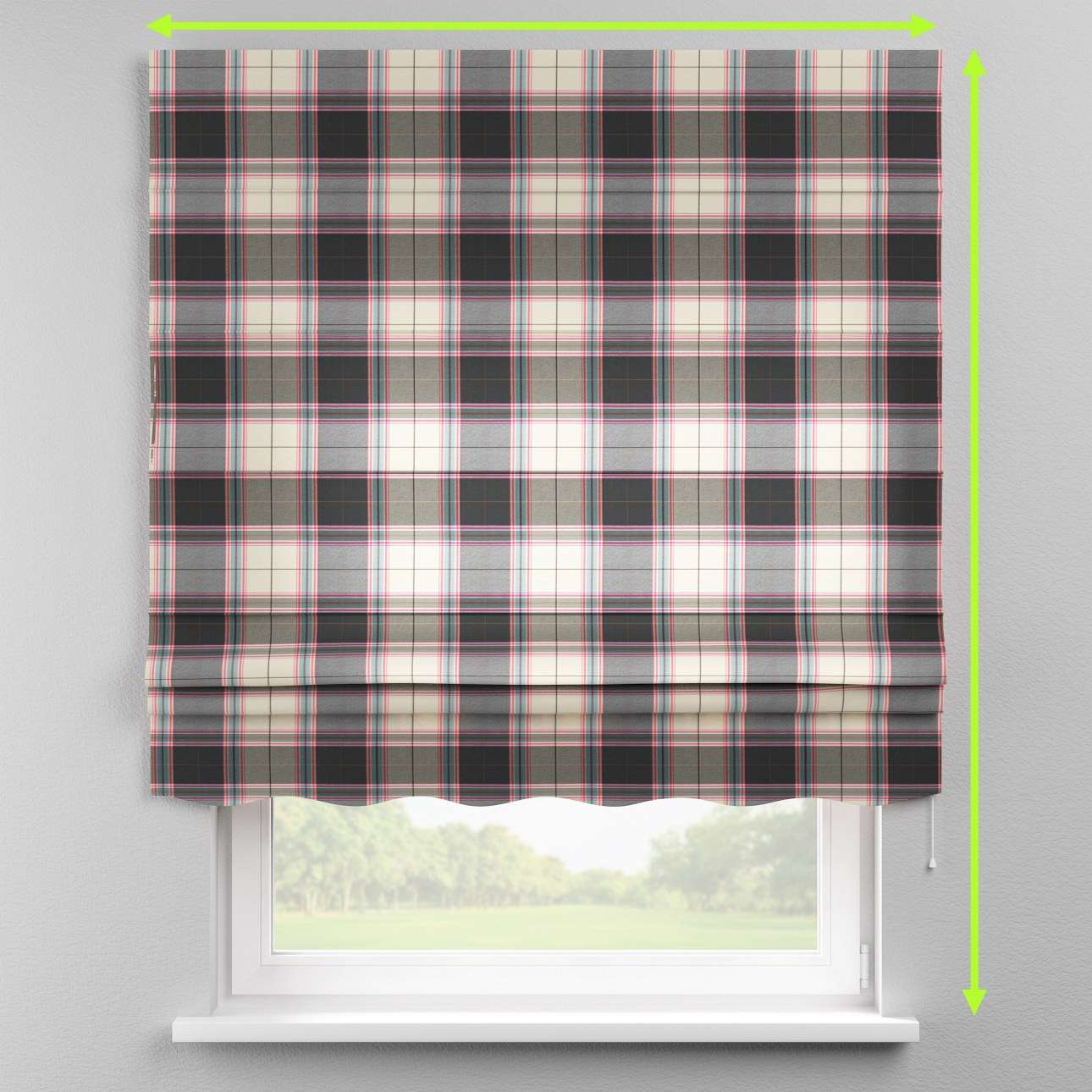 Florence roman blind  in collection Bristol, fabric: 125-32