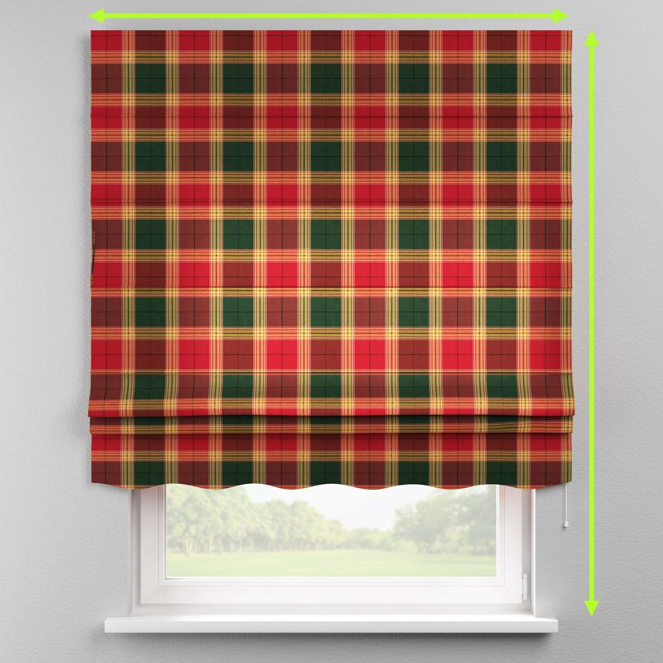 Florence roman blind  in collection Bristol, fabric: 125-48