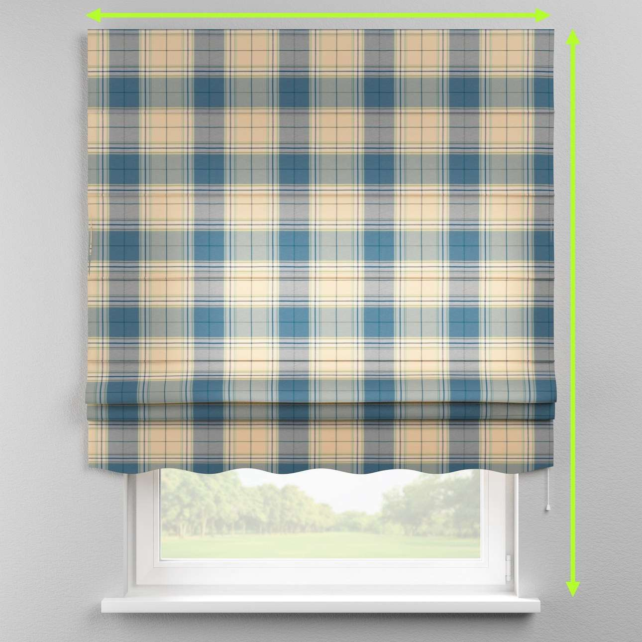 Florence roman blind  in collection Bristol, fabric: 125-69