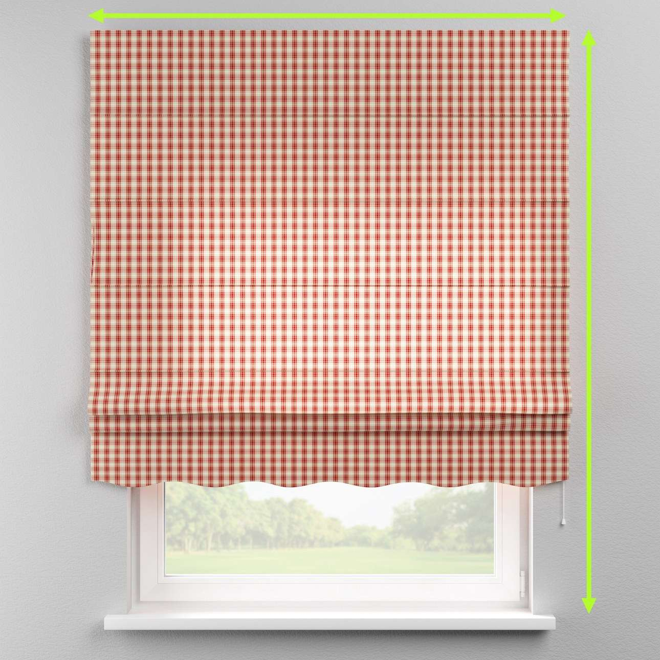 Florence roman blind  in collection Bristol, fabric: 126-09