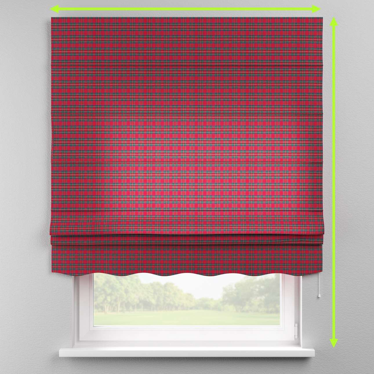 Florence roman blind  in collection Bristol, fabric: 126-29