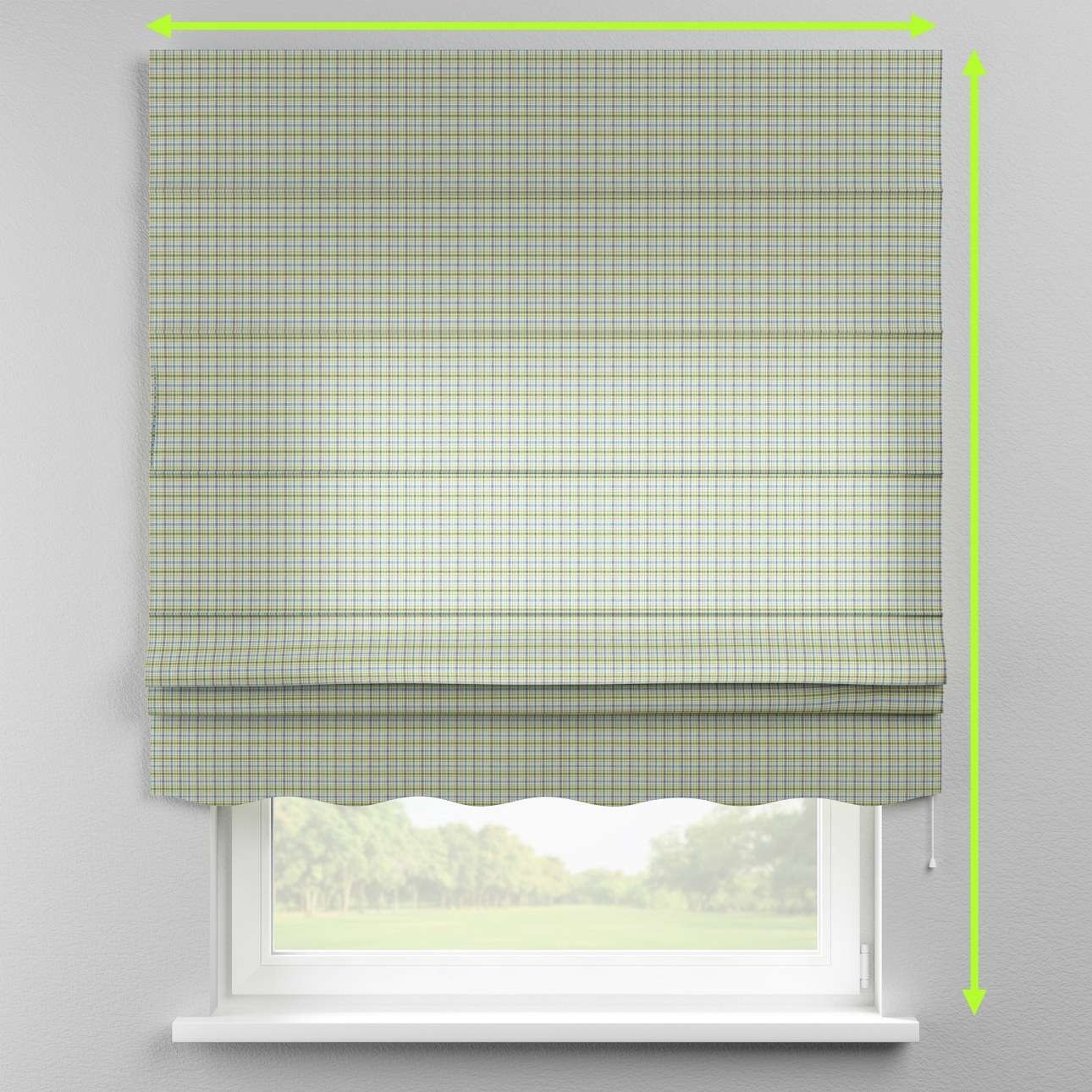 Florence roman blind  in collection Bristol, fabric: 126-69