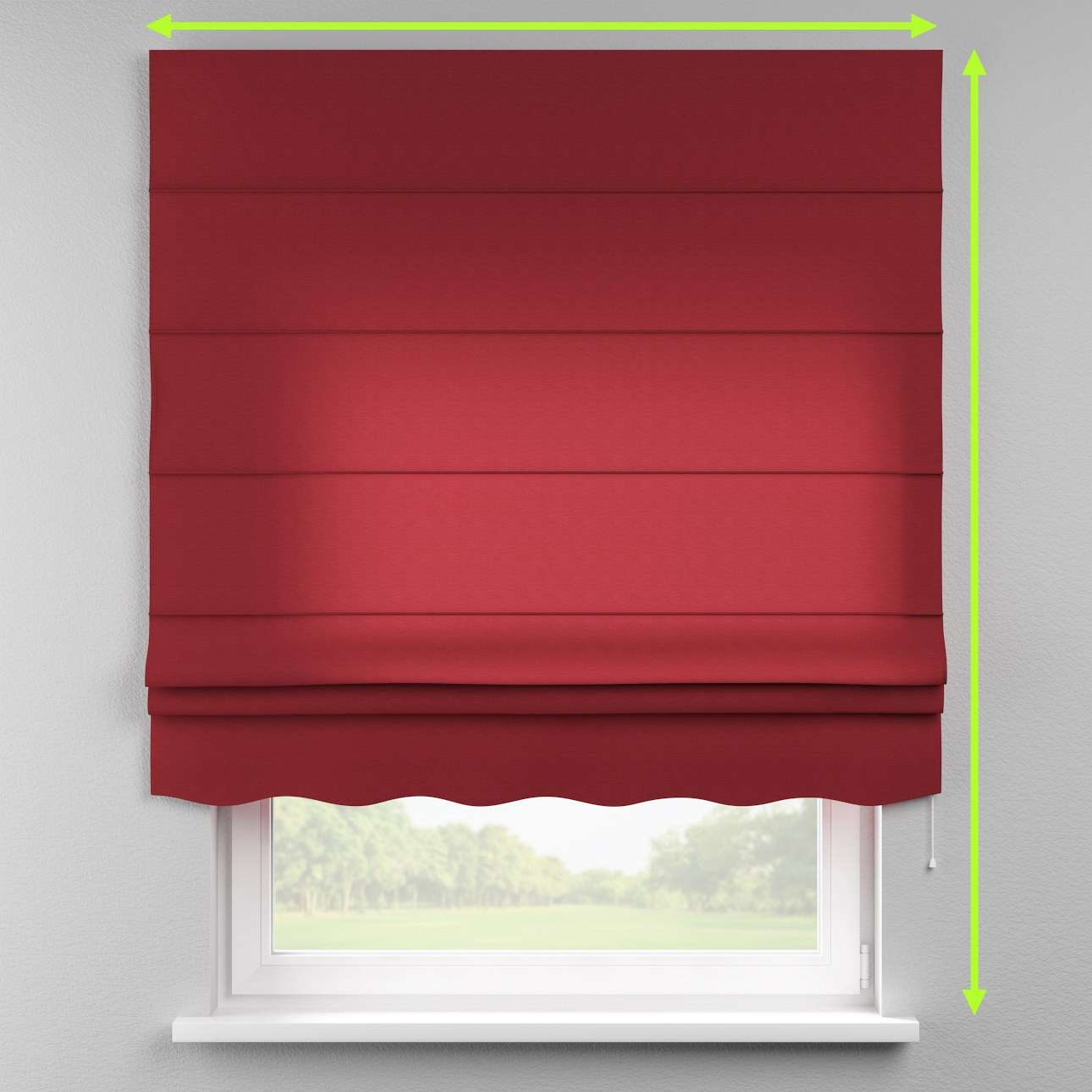 Florence roman blind  in collection Jupiter, fabric: 127-15