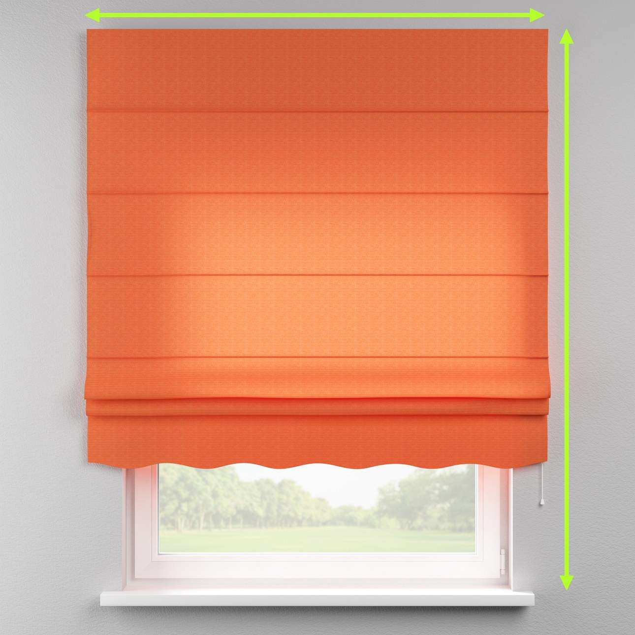 Florence roman blind  in collection Jupiter, fabric: 127-35
