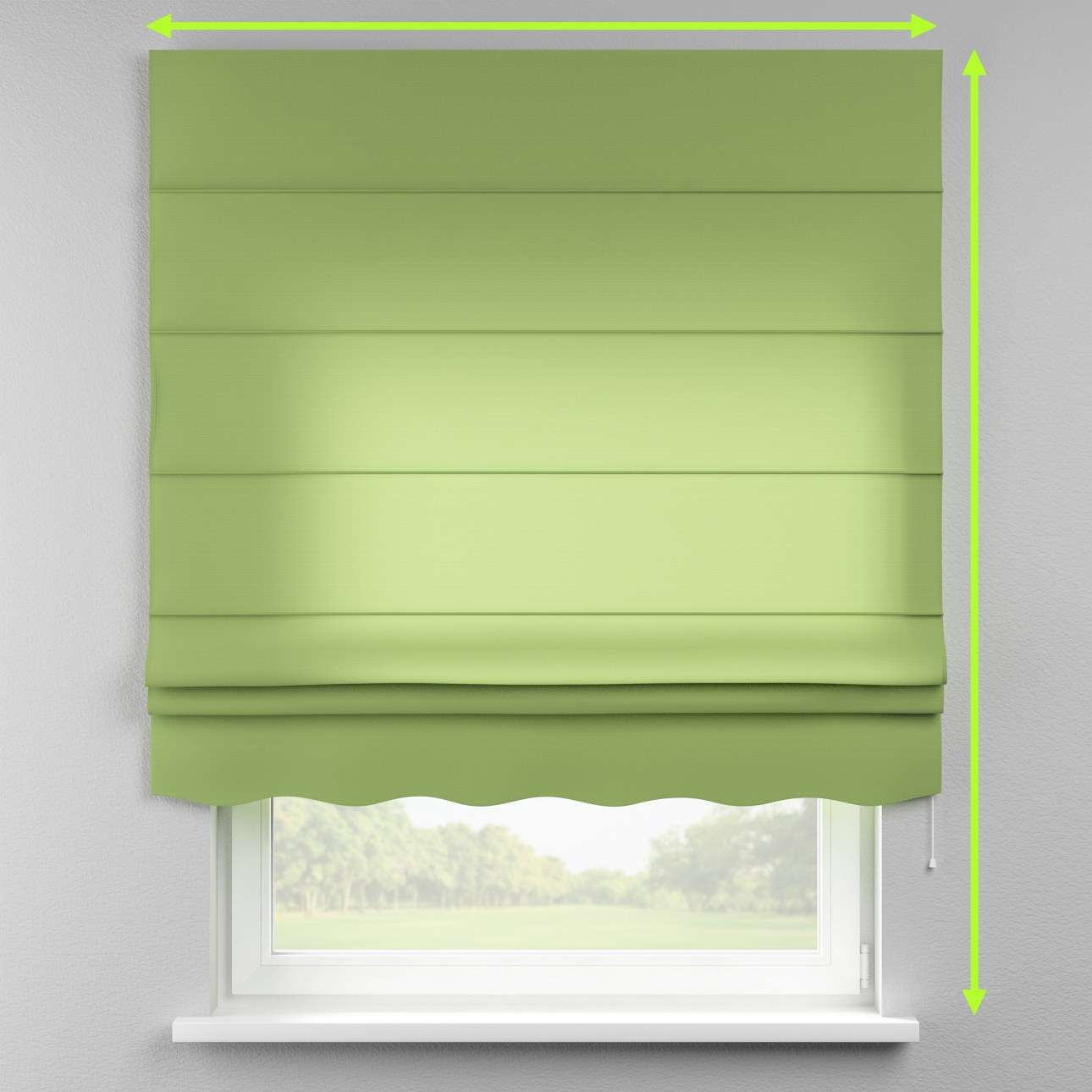 Florence roman blind  in collection Jupiter, fabric: 127-57