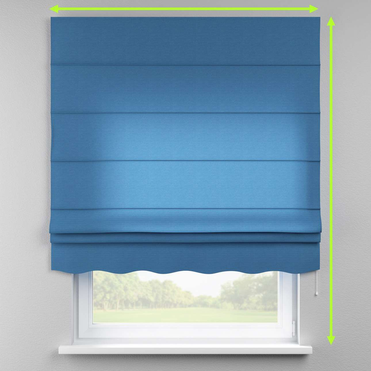 Florence roman blind  in collection Jupiter, fabric: 127-61