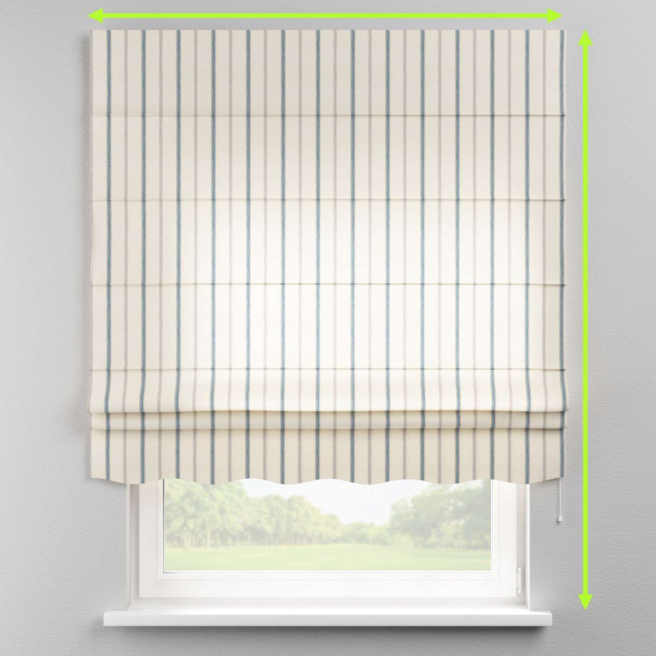 Florence roman blind  in collection Avinon, fabric: 129-66