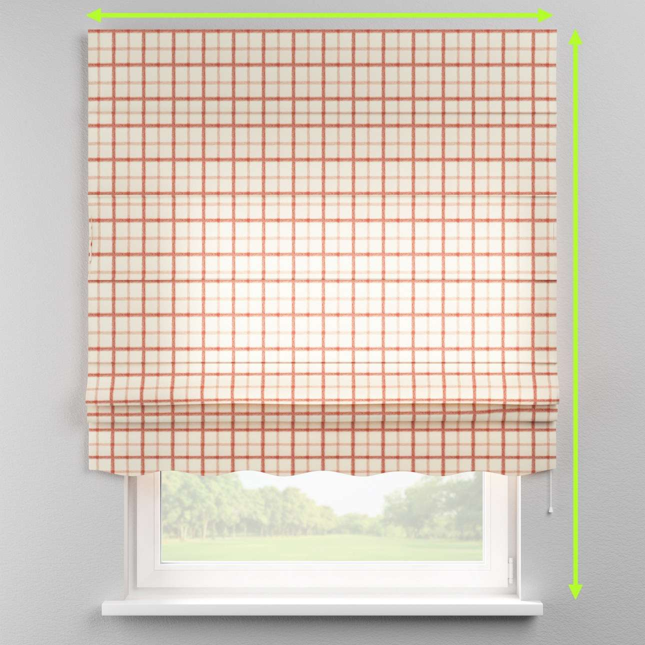 Florence roman blind  in collection Avinon, fabric: 131-15