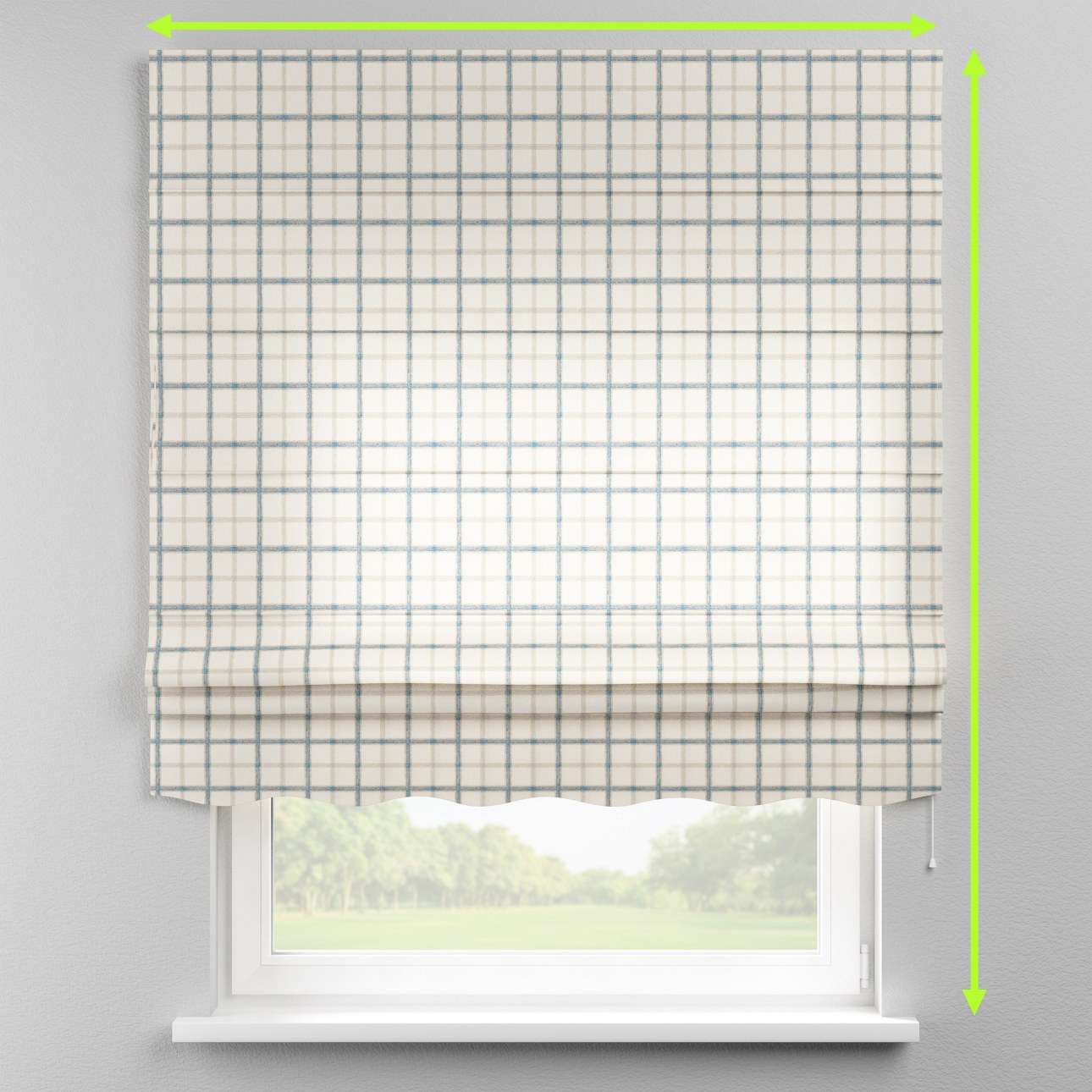 Florence roman blind  in collection Avinon, fabric: 131-66