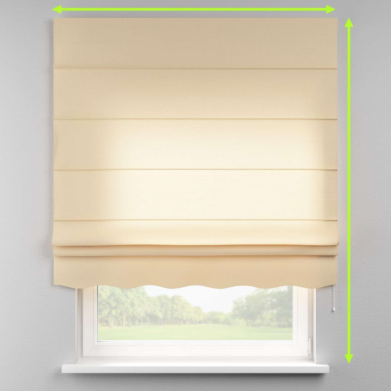 Florence roman blind  in collection Loneta , fabric: 133-04