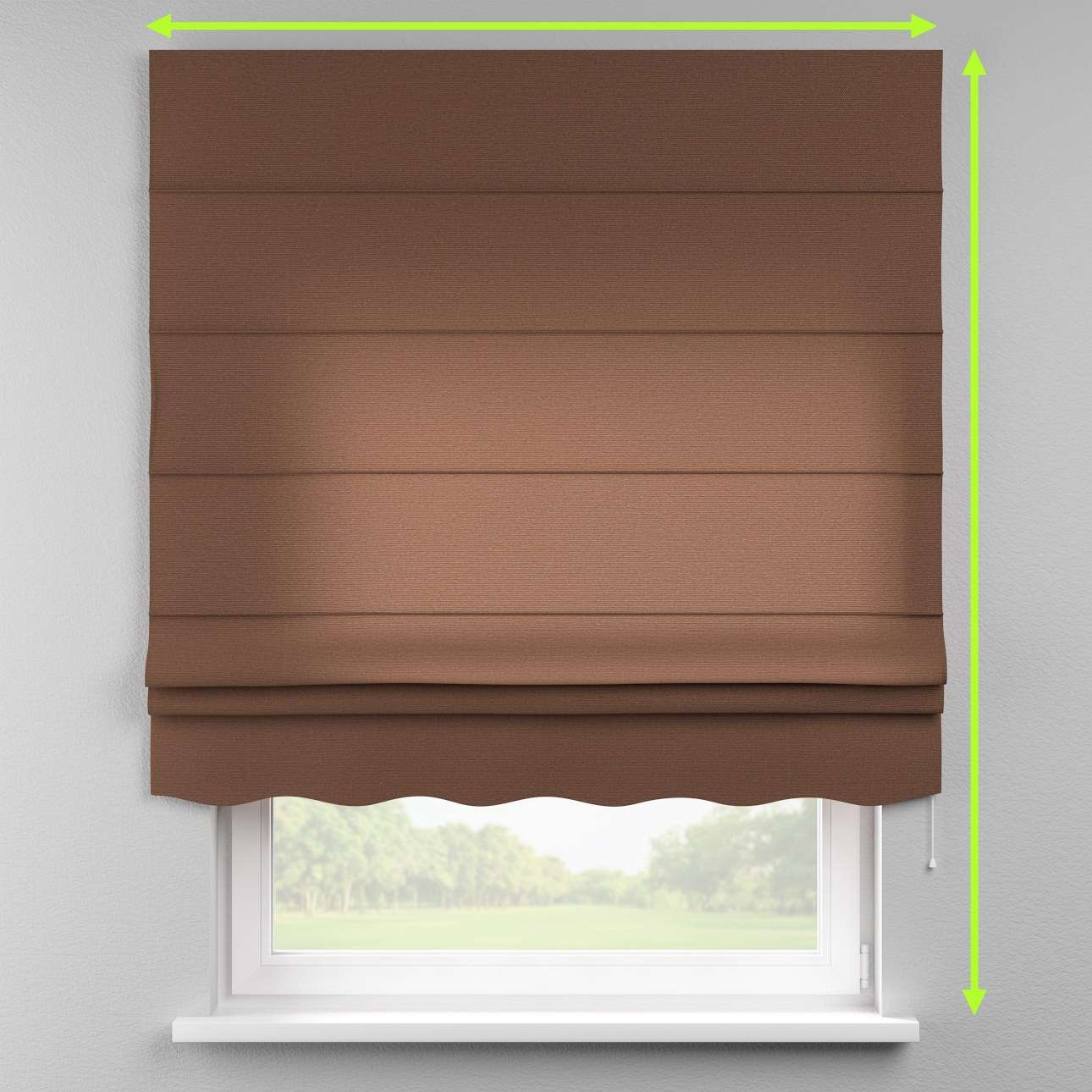 Florence roman blind  in collection Loneta , fabric: 133-09