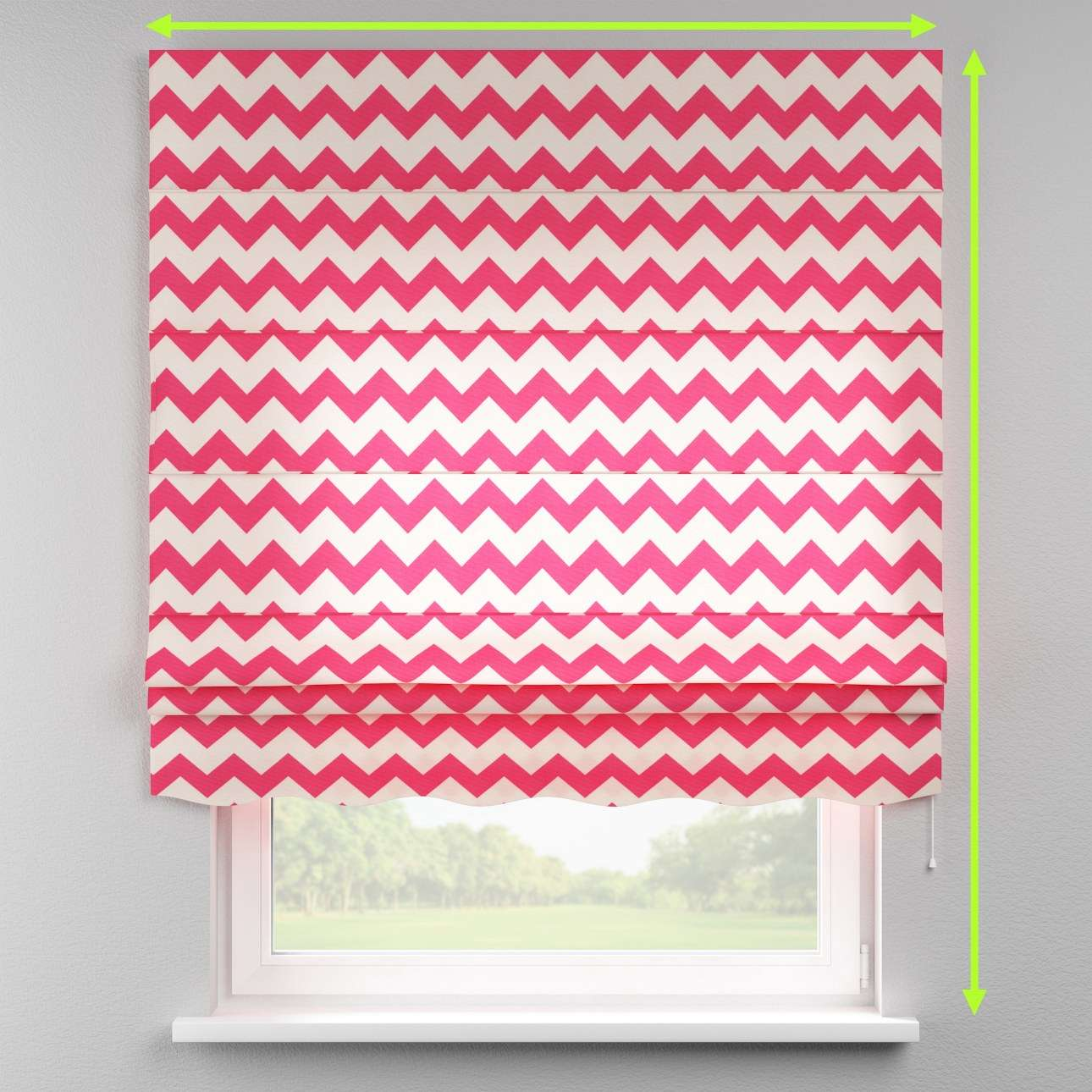 Florence roman blind  in collection Comic Book & Geo Prints, fabric: 135-00
