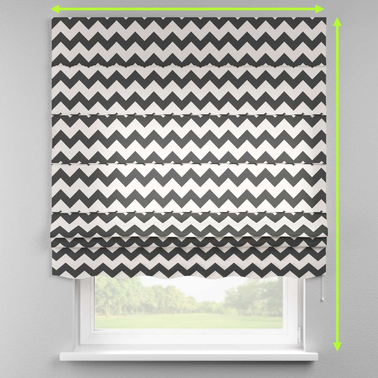 Florence roman blind  in collection Comic Book & Geo Prints, fabric: 135-02