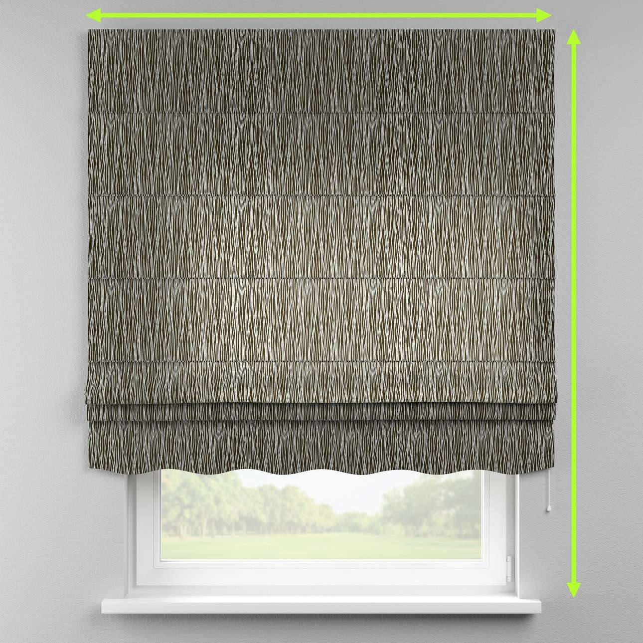 Florence roman blind  in collection Comic Book & Geo Prints, fabric: 135-06