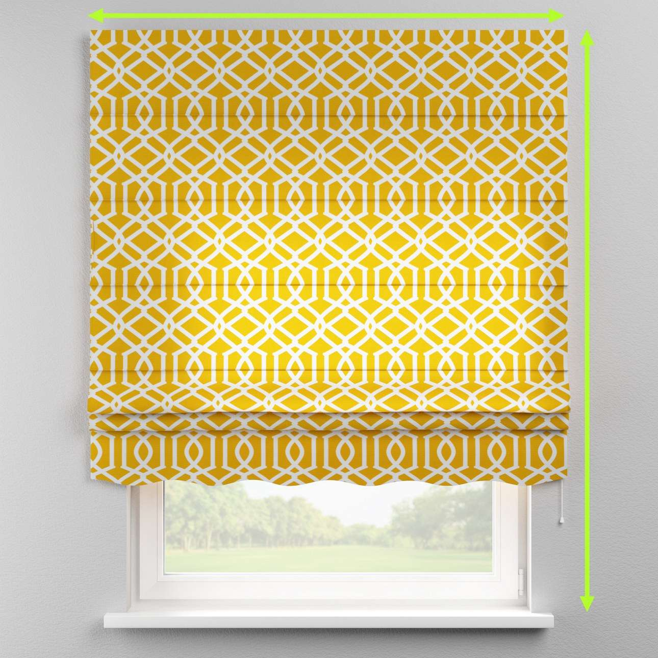 Florence roman blind  in collection Comics/Geometrical, fabric: 135-09