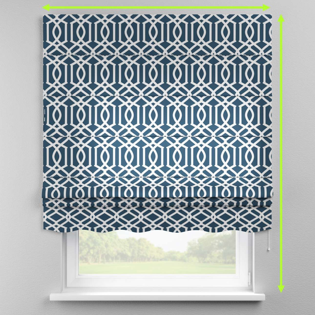 Florence roman blind  in collection Comic Book & Geo Prints, fabric: 135-10