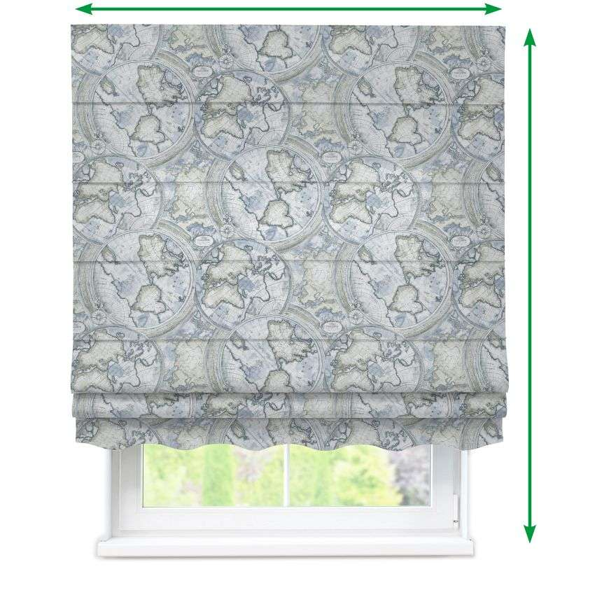 Florence roman blind  in collection Comic Book & Geo Prints, fabric: 135-11