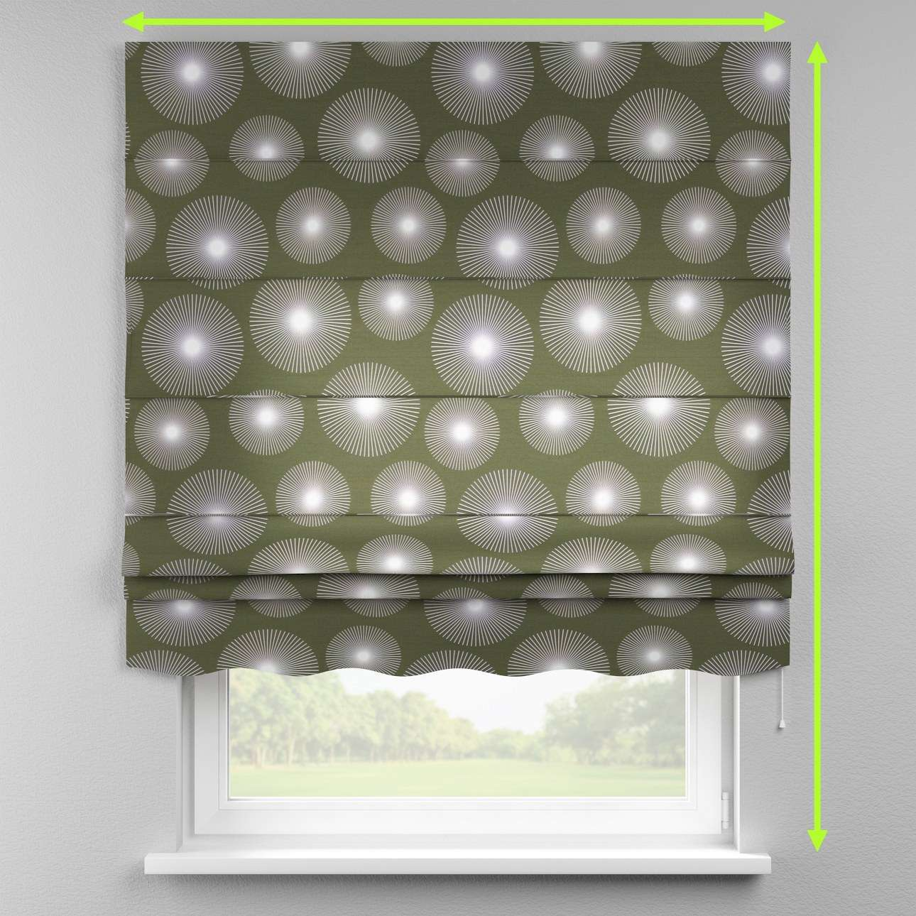 Florence roman blind  in collection Freestyle, fabric: 135-17