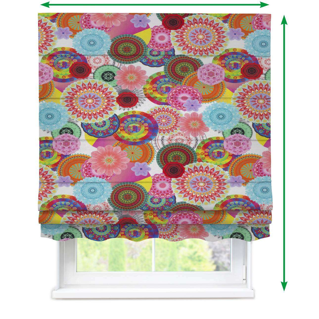 Florence roman blind  in collection Comic Book & Geo Prints, fabric: 135-22