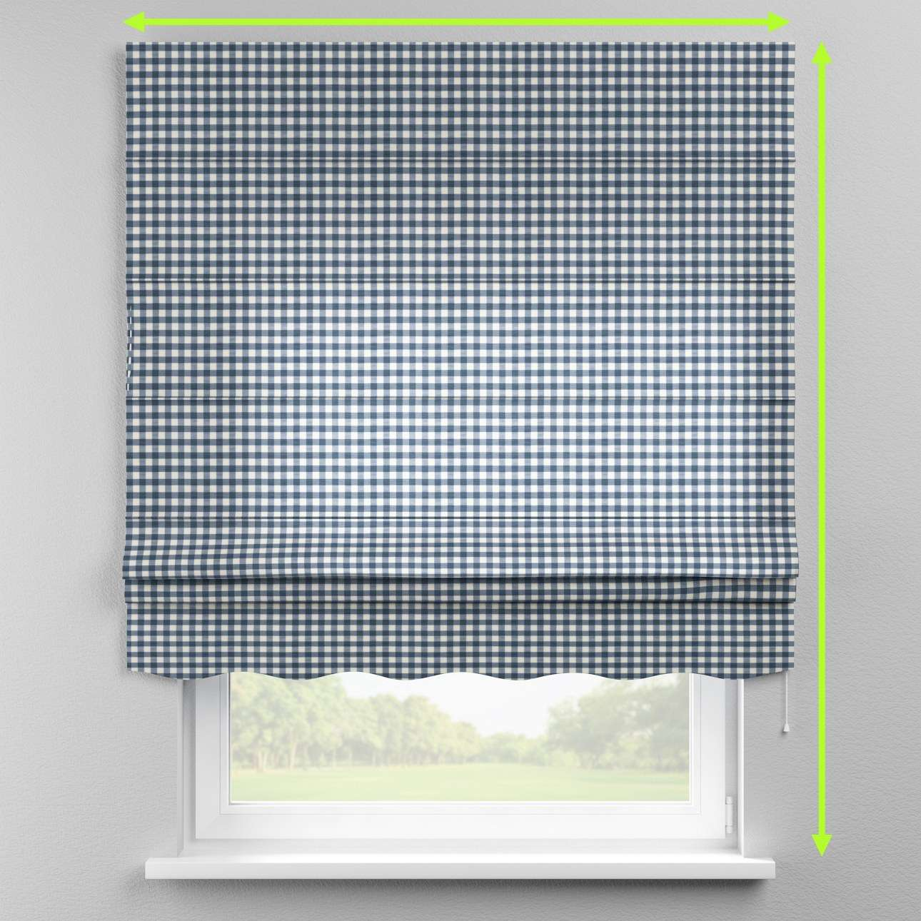 Florence roman blind  in collection Quadro, fabric: 136-01