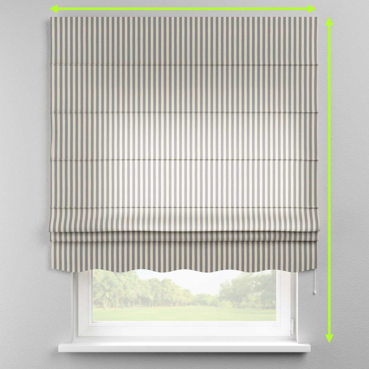Florence roman blind  in collection Quadro, fabric: 136-02