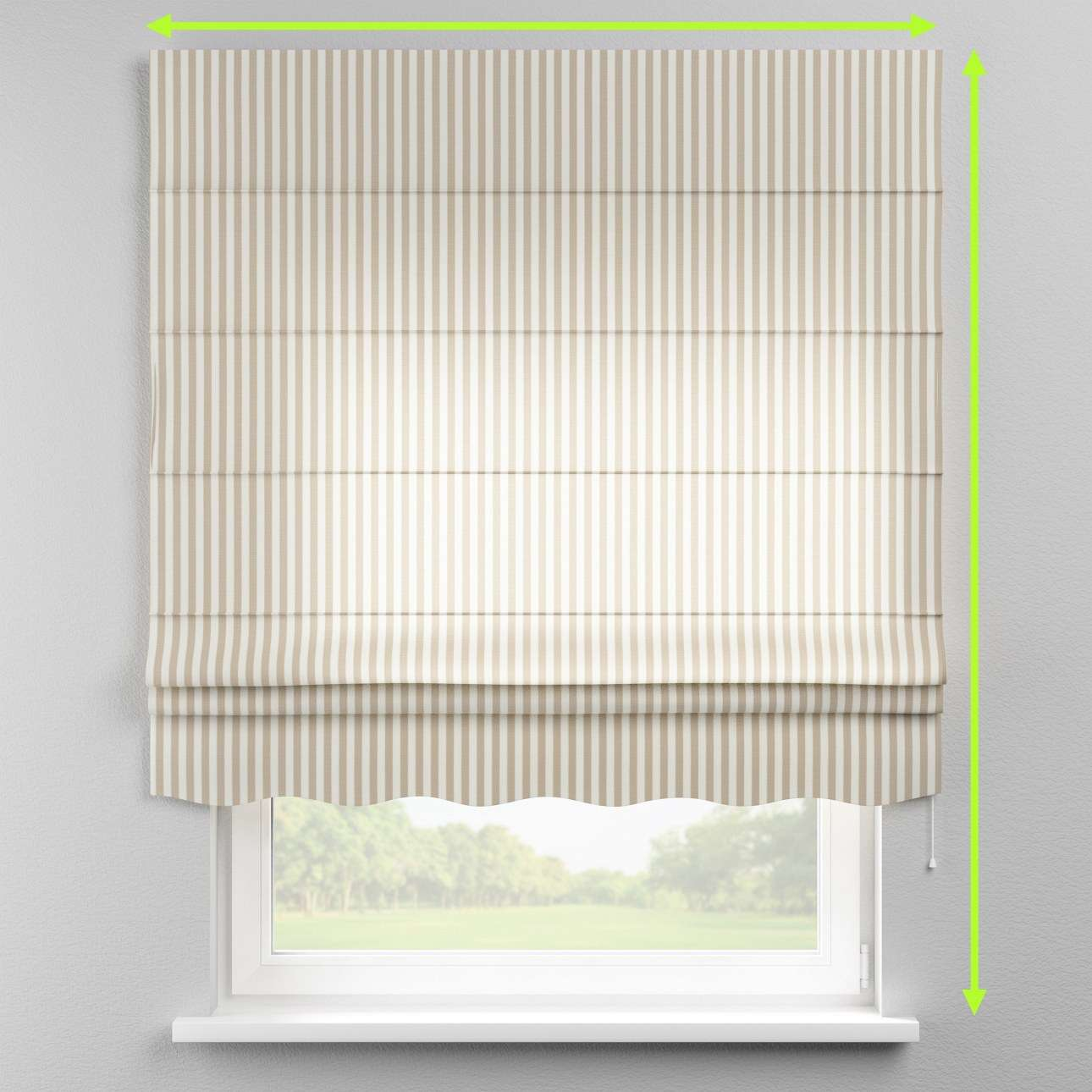 Florence roman blind  in collection Quadro, fabric: 136-07