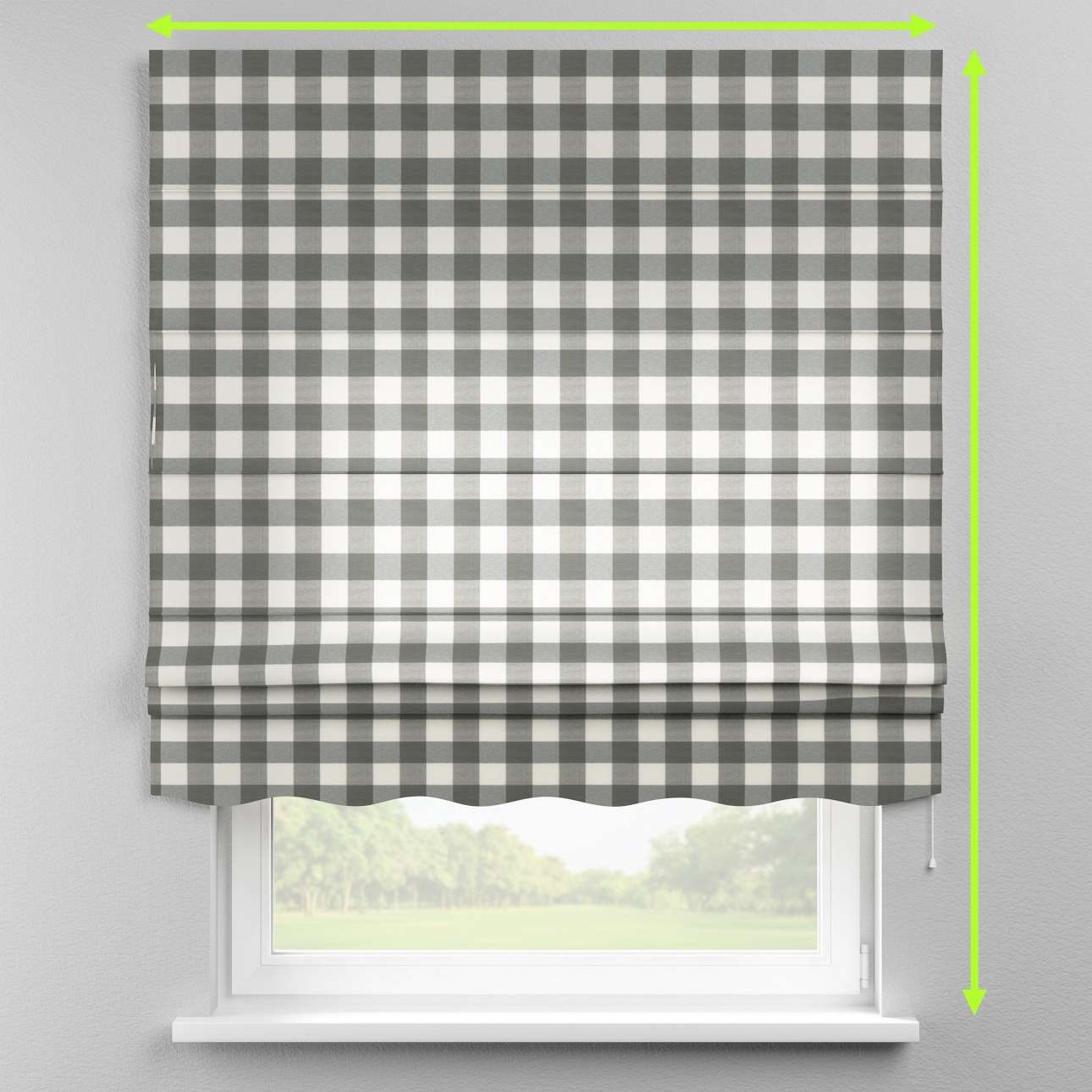Florence roman blind  in collection Quadro, fabric: 136-13