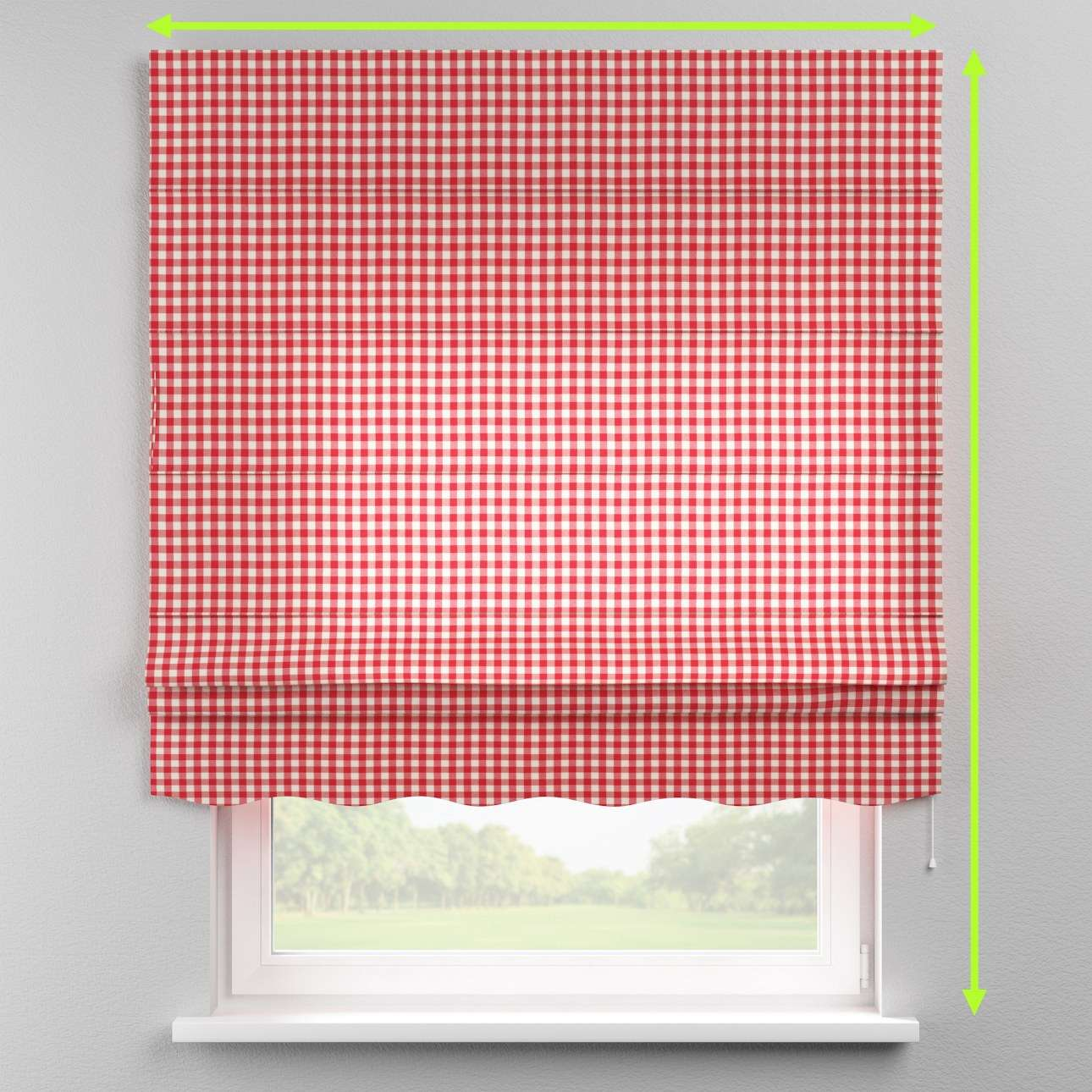 Florence roman blind  in collection Quadro, fabric: 136-16
