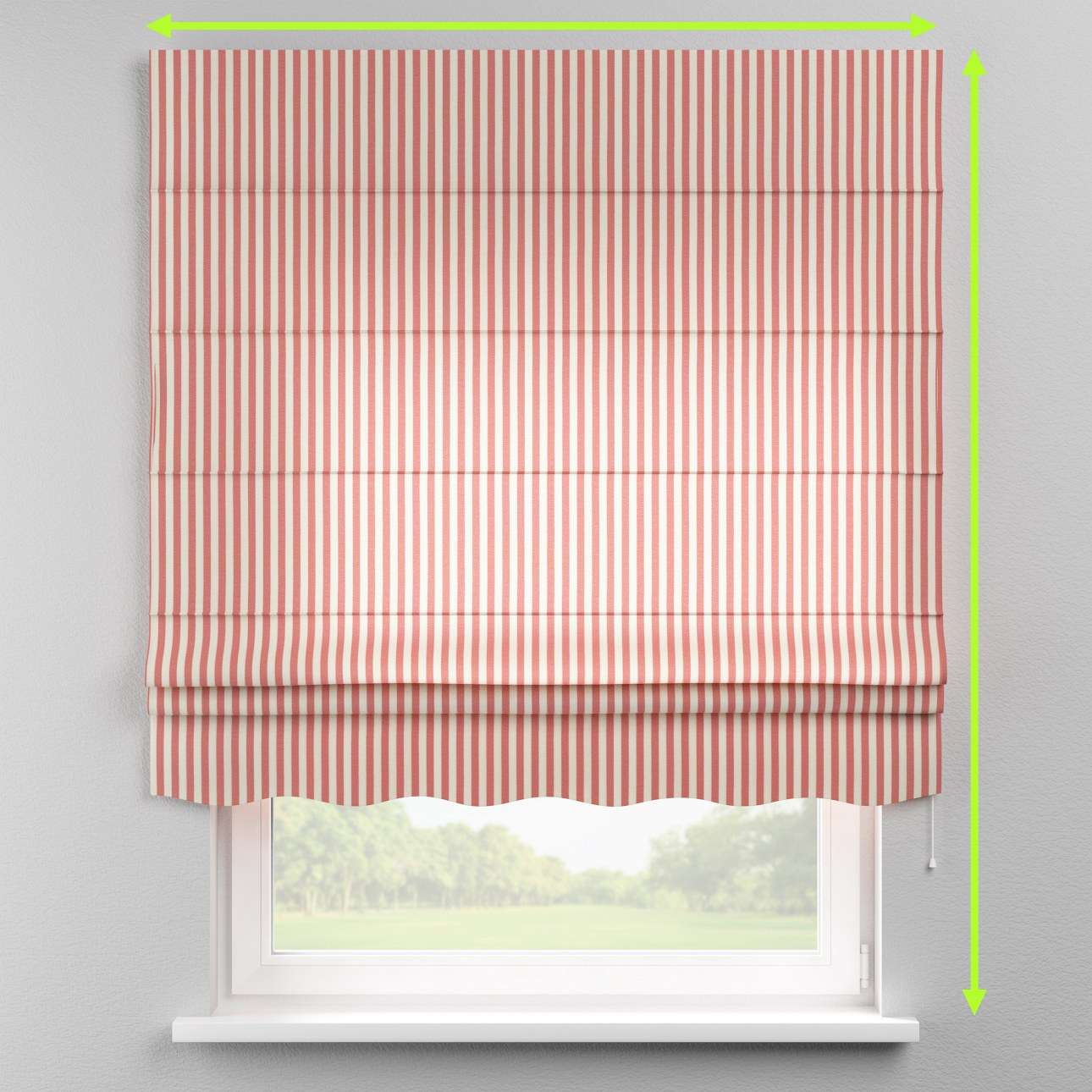 Florence roman blind  in collection Quadro, fabric: 136-17