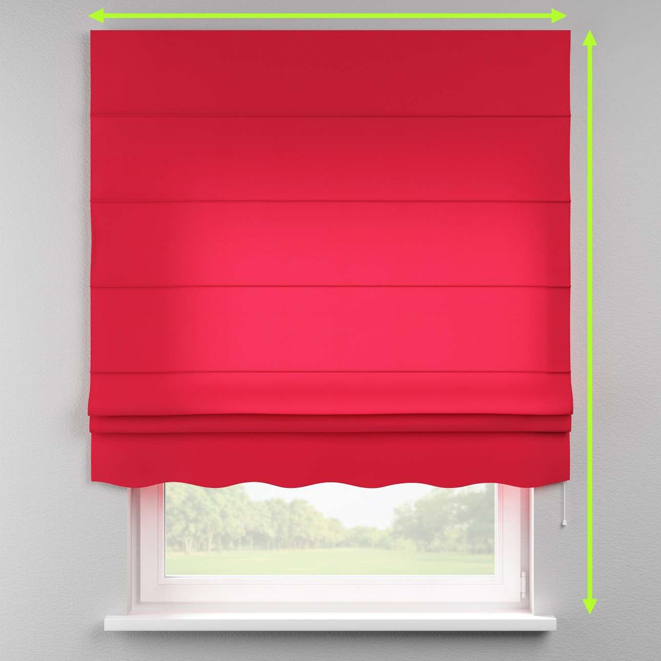 Florence roman blind  in collection Quadro, fabric: 136-19